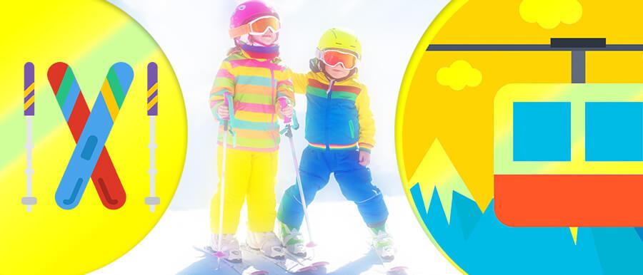 выбор лыж для детей
