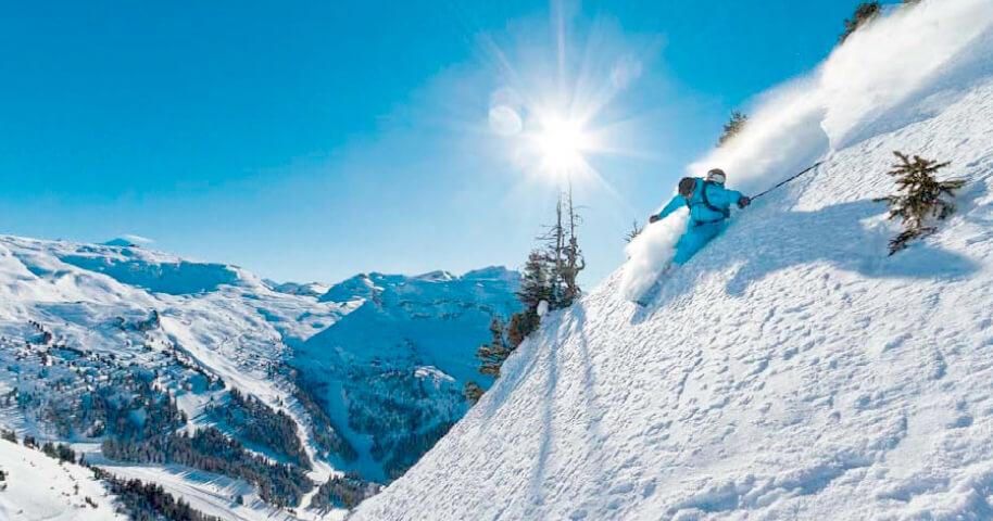 Трассы для катания на лыжах в России
