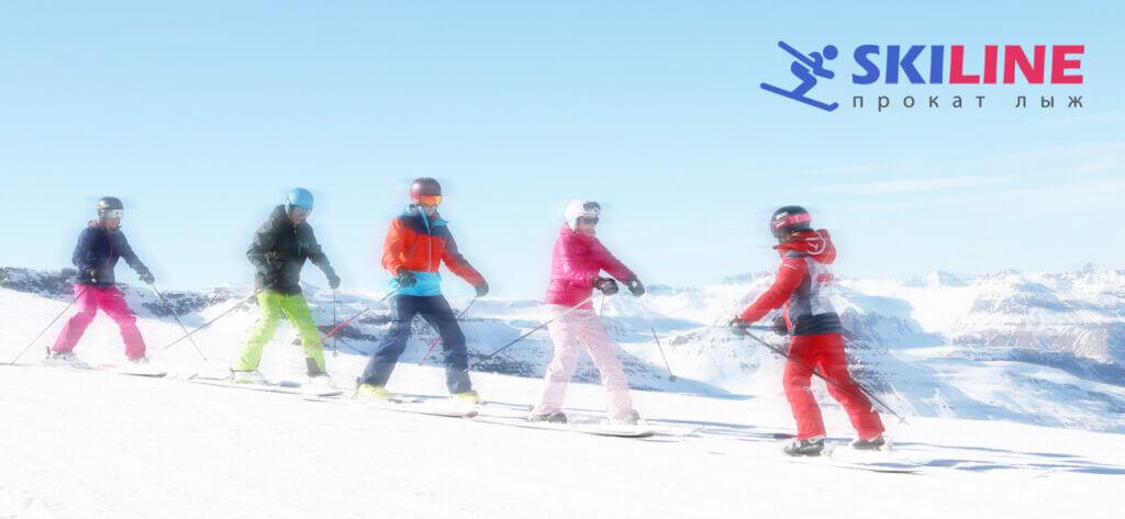 Учимся кататься на горных лыжах