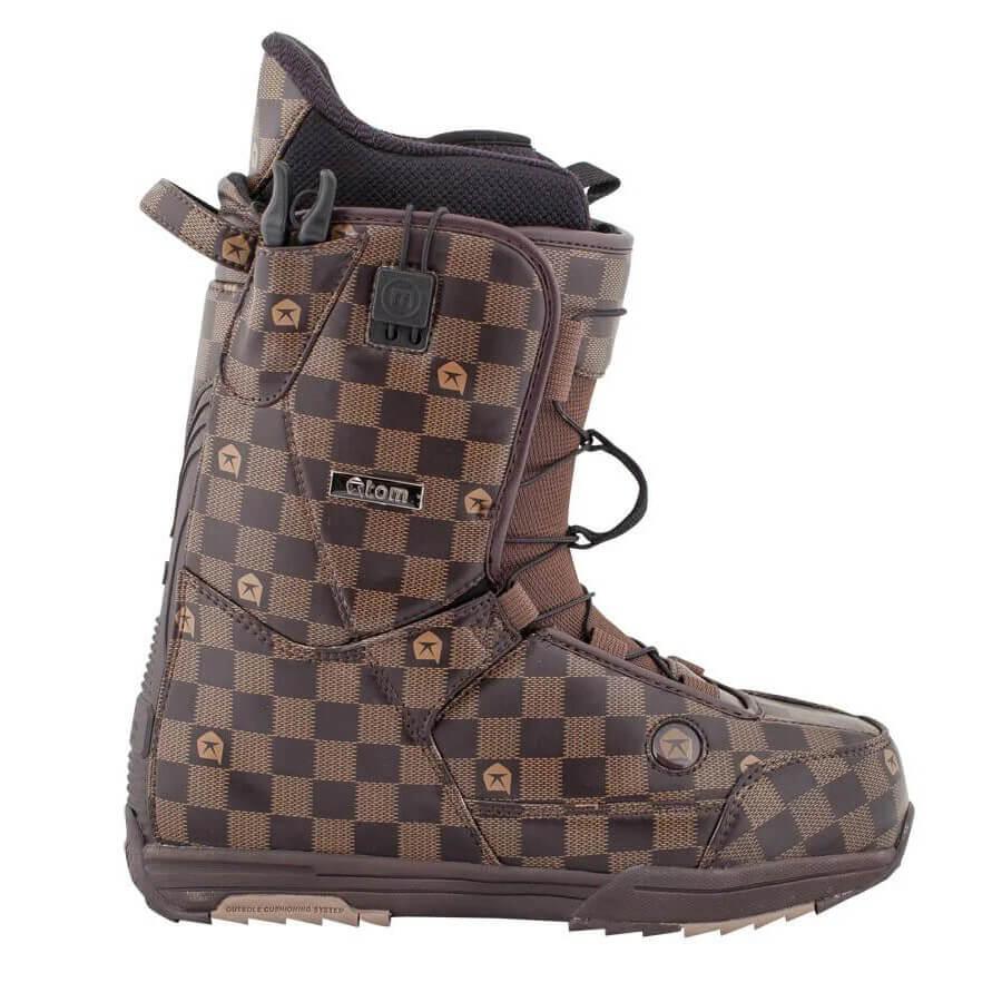 Прокат ботинки Atom для сноуборда в Сочи и Адлере