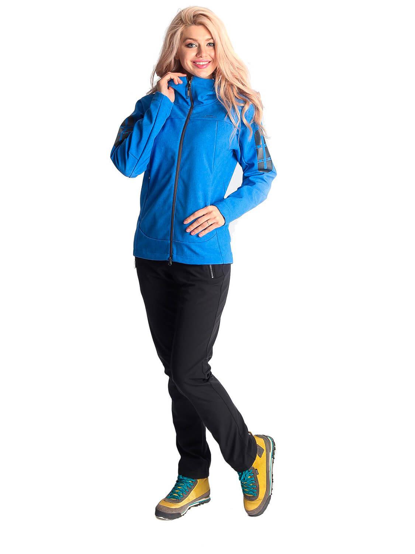 Прокат женской горнолыжной куртки M ветровка синяя