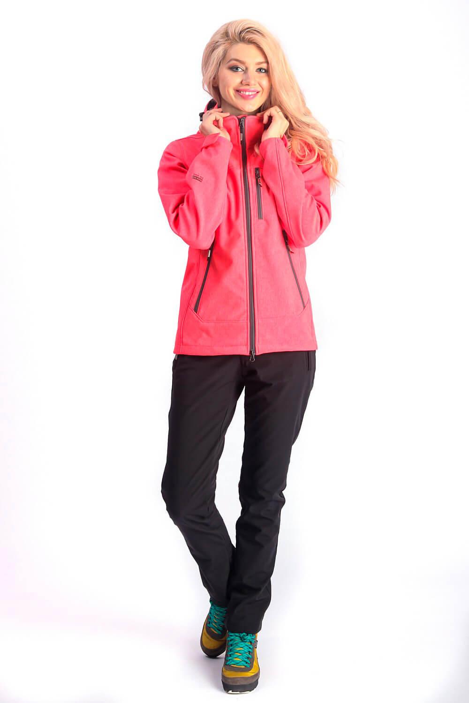 Прокат женской горнолыжной куртки коралового цвета