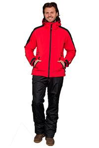 Куртка мужская Snow Headquarter XXL Красная/Черная