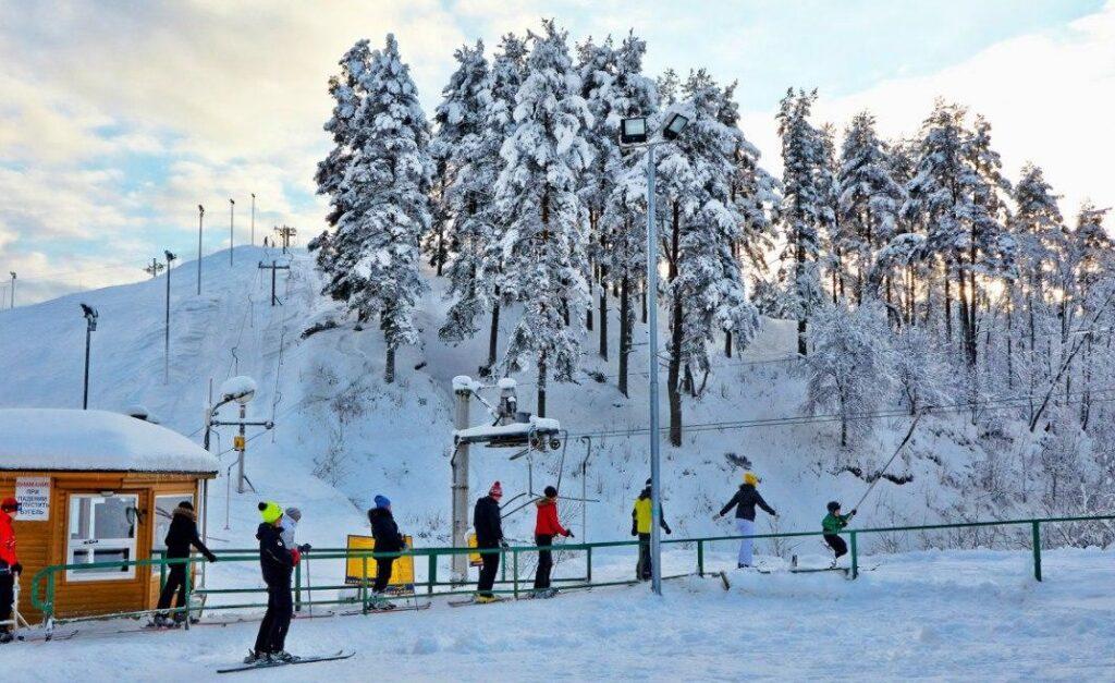 горнолыжные курорты Санкт-Петербурга — Северный склон