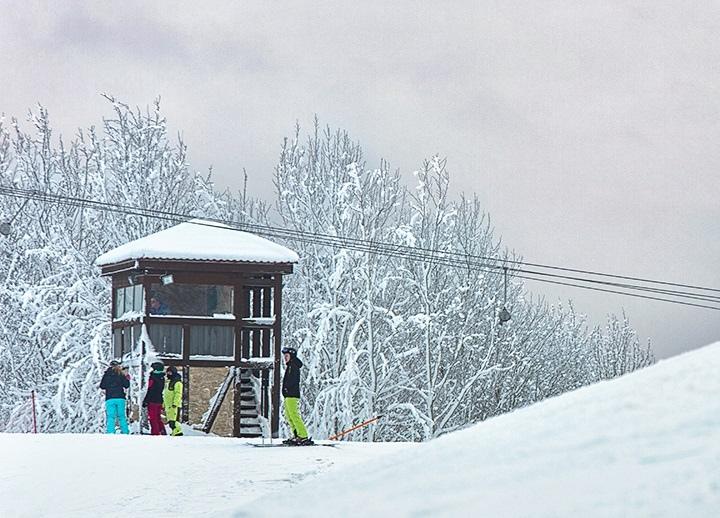 горнолыжные курорты Санкт-Петербурга — Снежный