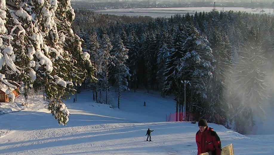 горнолыжные курорты Санкт-Петербурга — Юкки парк