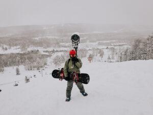 Как обезопасить себя при катании на горных лыжах