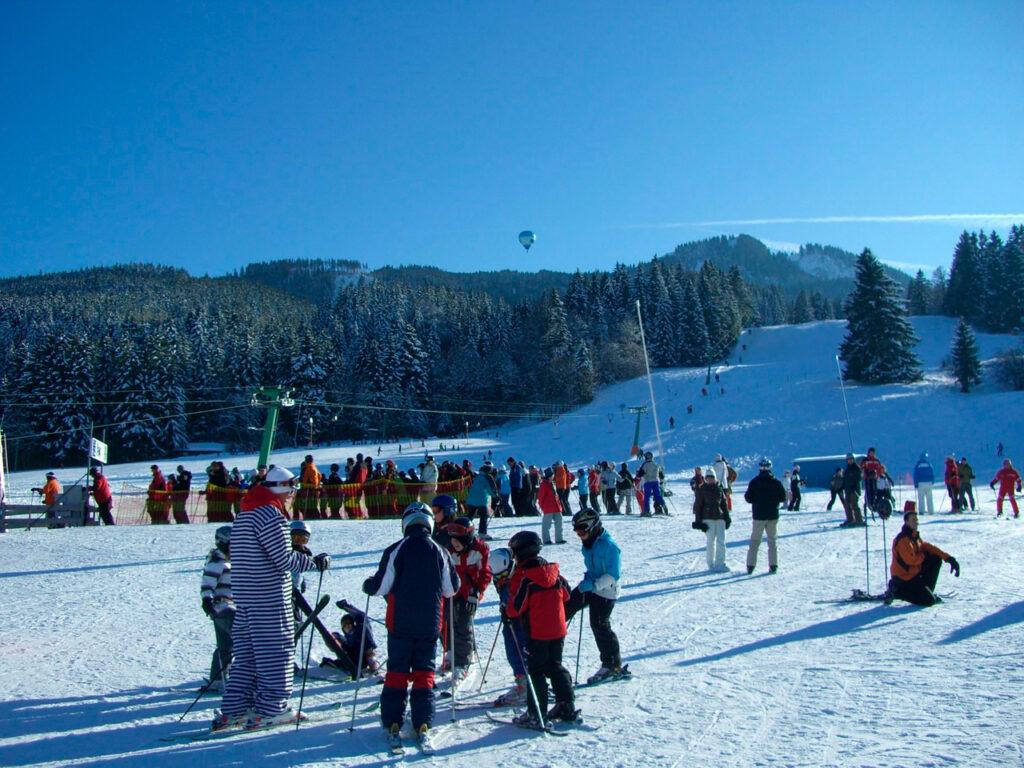 Лыжи в наше время