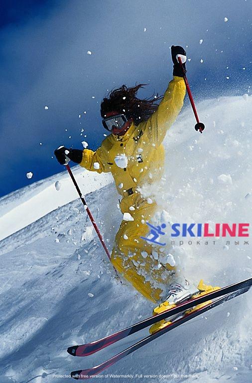 Скорость движения на горных и беговых лыжах