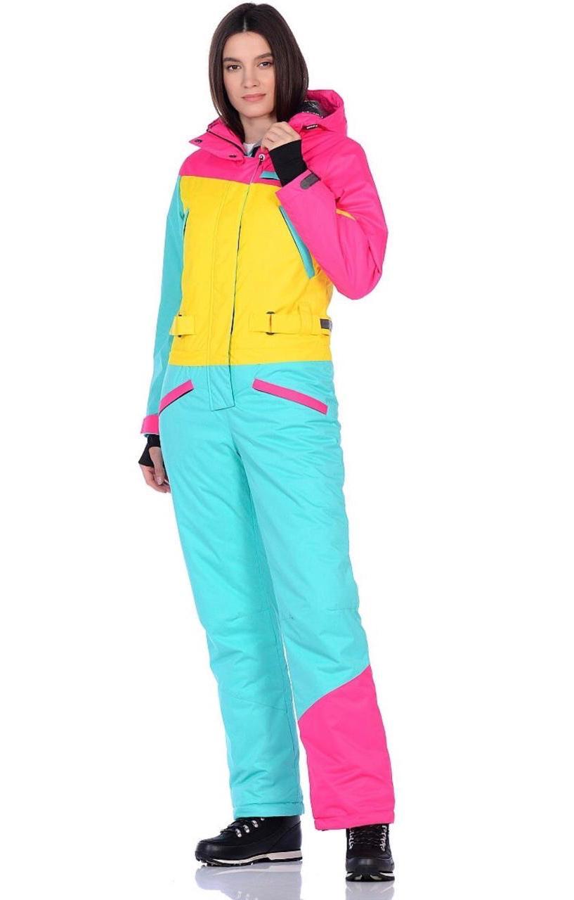 женский комбинезон для лыж и сноуборда