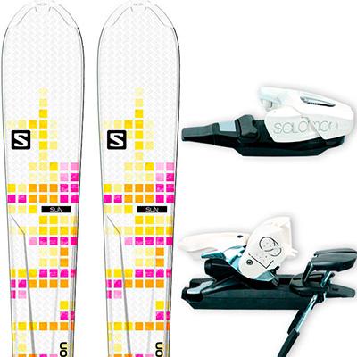 Прокат лыж Salomon Sun в Сочи, Адлере и Красной Поляне