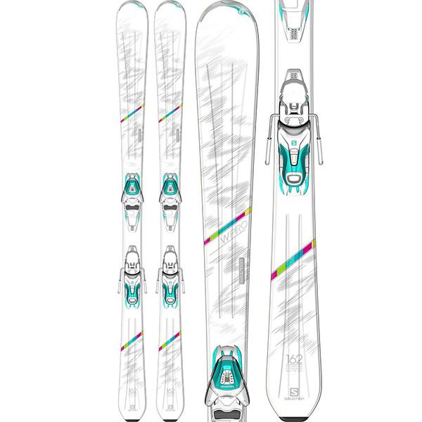 Прокат женских горных лыж Salomon WPro в Сочи, Адлере и Красной Поляне